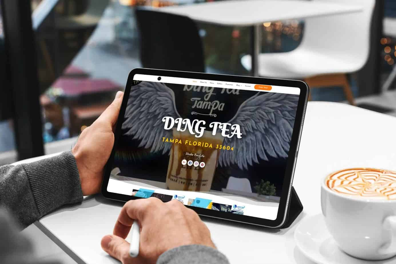 bubble-tea-store-responsive-website-tablet