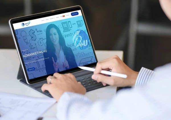 azmarketing4u-responsive-website-tablet-display