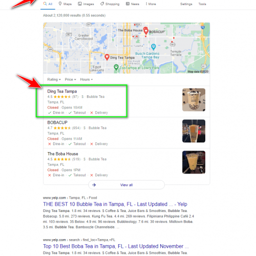 azmarketing4u-local-seo-testimonial-google-search-bubble-tea-0001